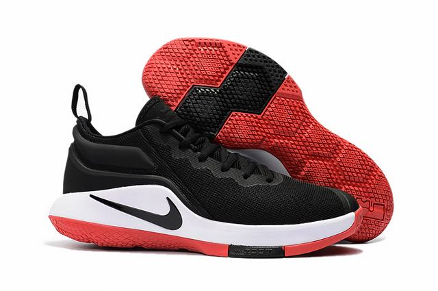 Nike Lebron James Witness 2 Shoes Black White Red